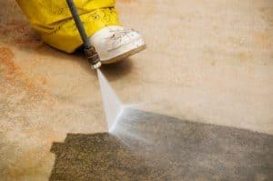 Concrete driveway maintenance